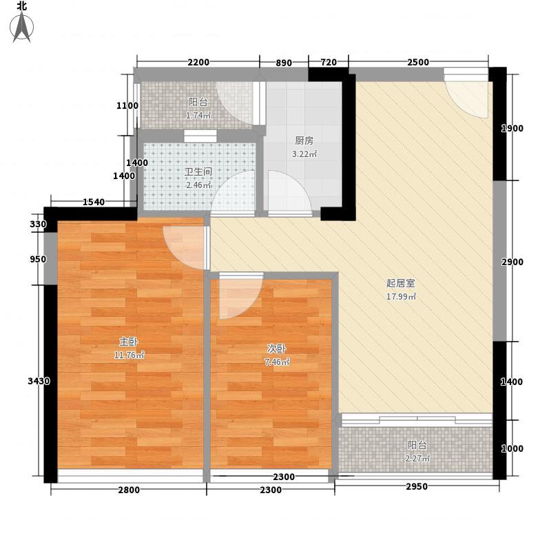 星座传奇星座传奇户型图2室2厅1卫1厨户型10室