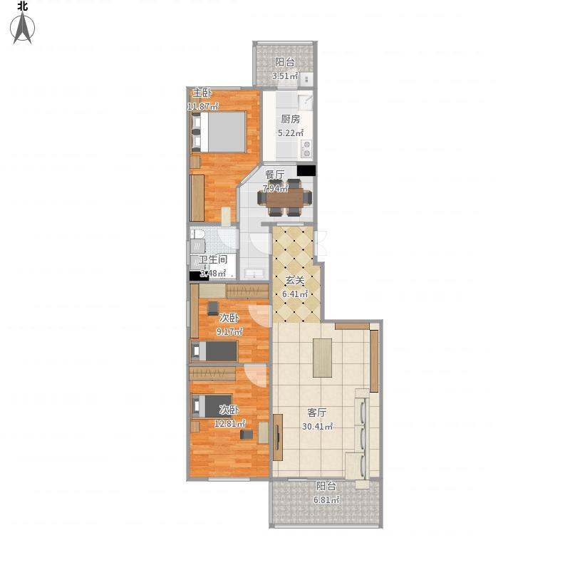 北京-天通西苑三区-设计方案