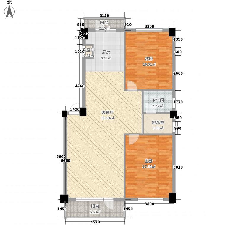 金山名苑金山名苑2室户型2室