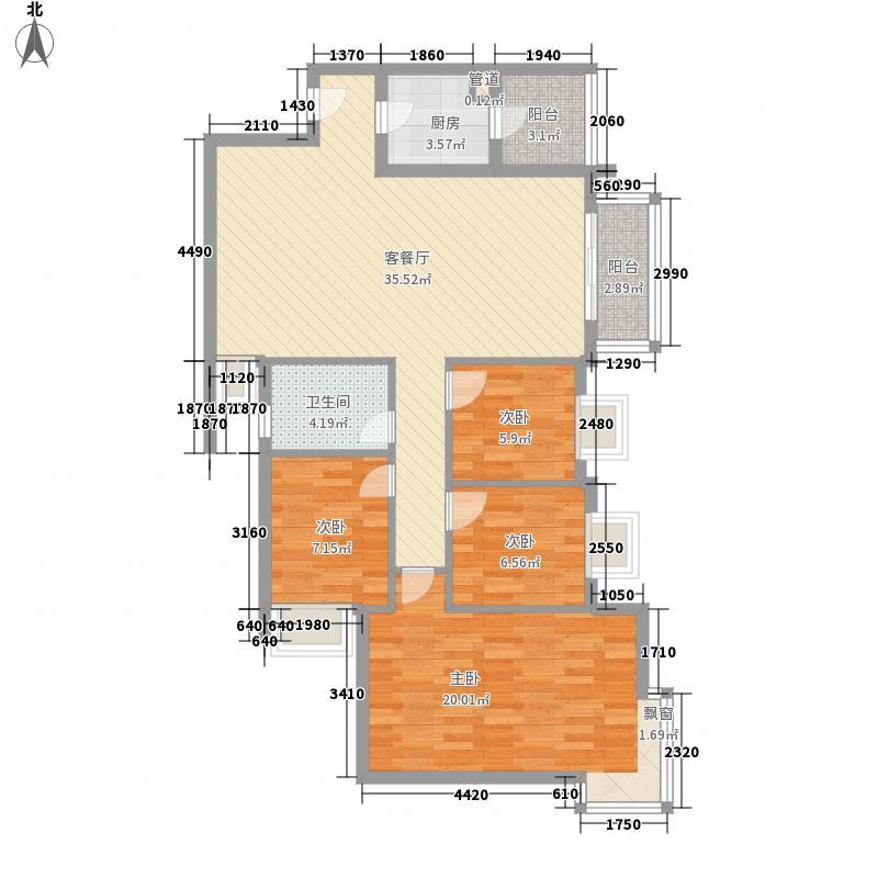 鹿茵翠地鹿茵翠地户型图户型图4室2厅2卫1厨户型4室2厅2卫1厨