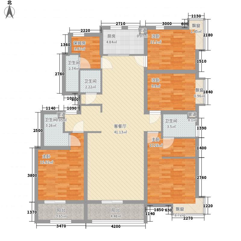 威海福湾172.00㎡I户型5室2厅3卫1厨
