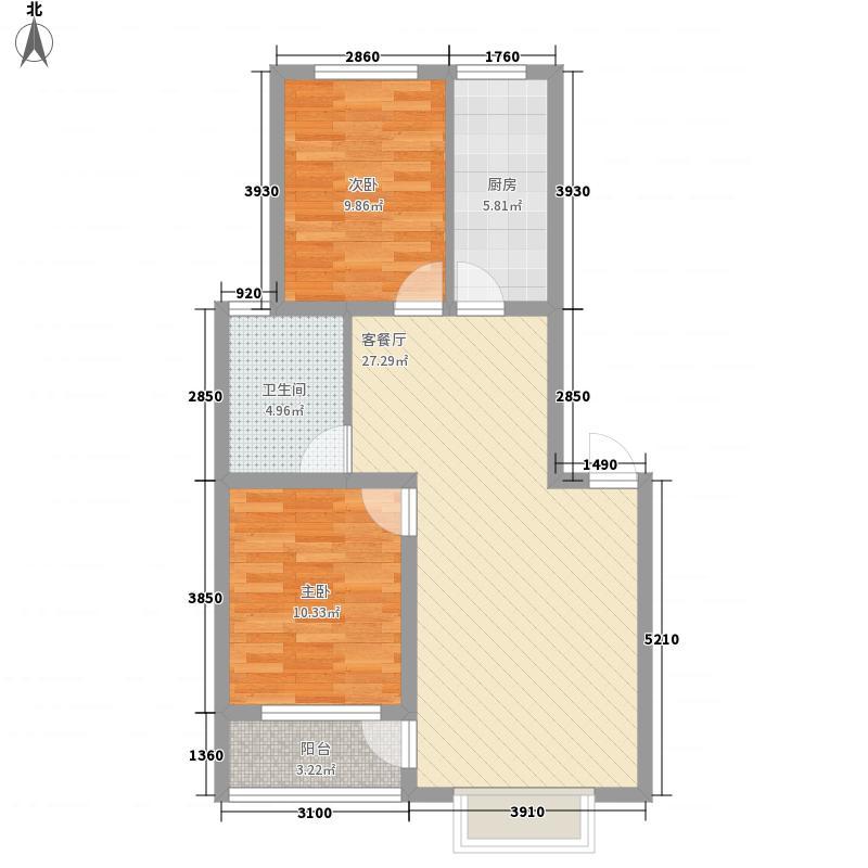 润地凤凰城6号楼4户型