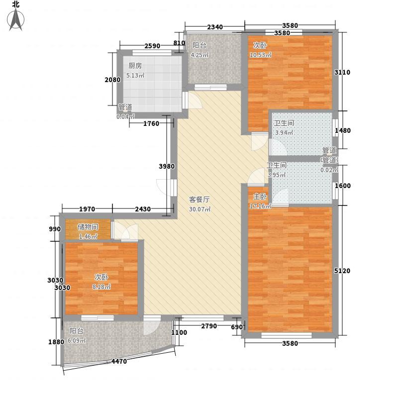 赛维拉假日花园130.00㎡赛维拉假日花园户型图3室户型图3室2厅2卫1厨户型3室2厅2卫1厨