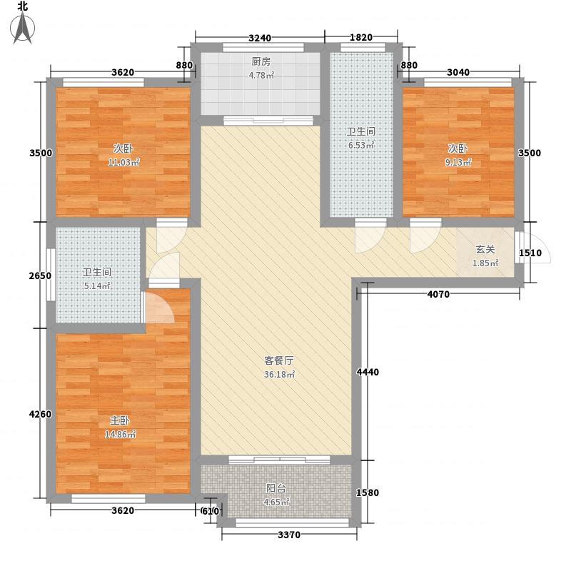 天悦10#楼G-1户型