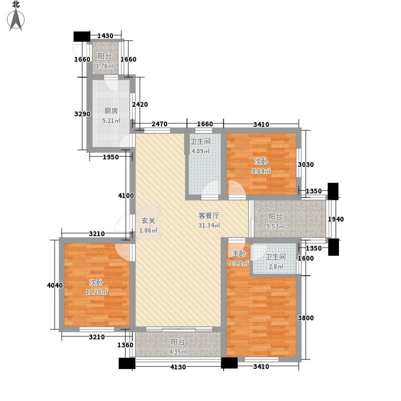 华茂万和城128.16㎡华茂万和城户型图G2户型图3室2厅2卫1厨户型3室2厅2卫1厨