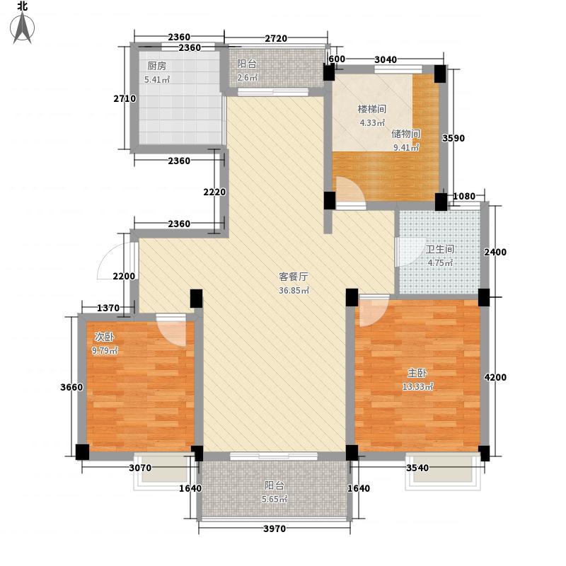 永康家园s20114194211798068户型3室2厅1卫1厨