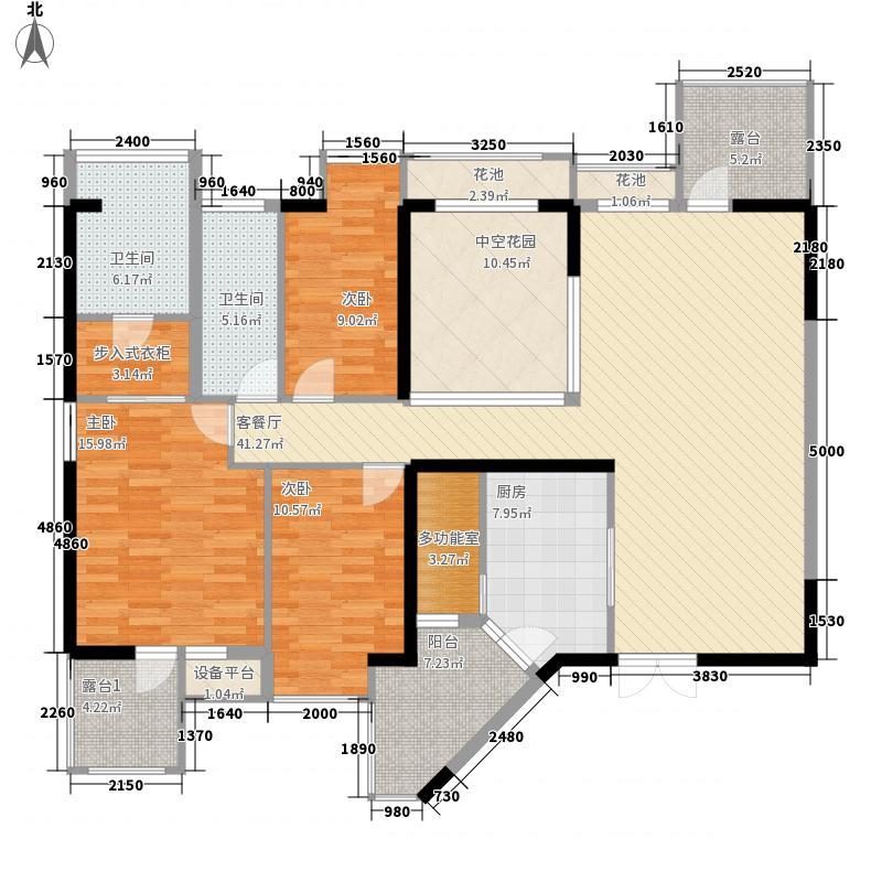 深南花园深南花园户型图三房两厅两卫一厨3室2厅2卫1厨户型3室2厅2卫1厨