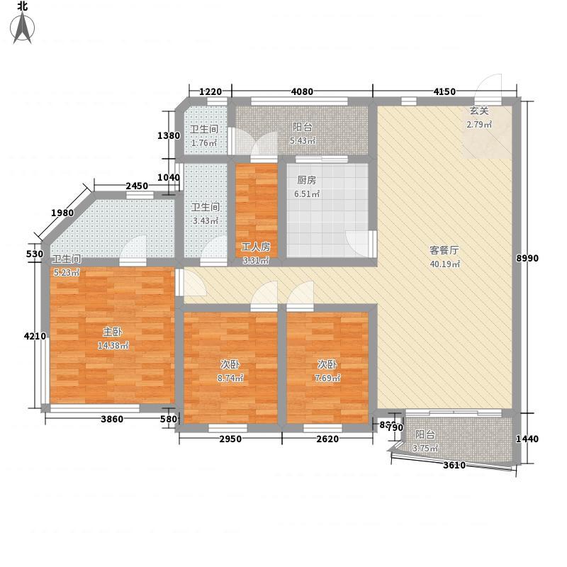 世界花园海华居深圳世界花园海华居户型图7户型10室
