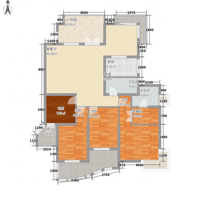 旭辉左海岸166.00㎡旭辉左海岸户型图4室2厅2卫1厨户型10室