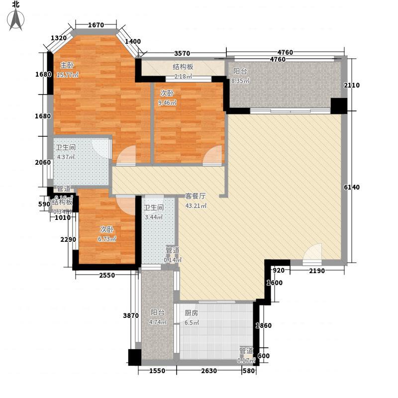 翡翠绿洲・庄园豪宅148.31㎡翡翠绿洲・庄园豪宅户型图3室2厅户型图3室2厅2卫1厨户型3室2厅2卫1厨