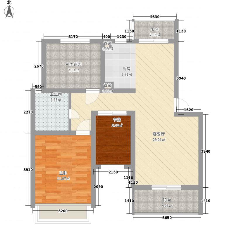 金世湾92.00㎡金世湾户型图I1-I4户型(多层)3室2厅1卫1厨户型3室2厅1卫1厨