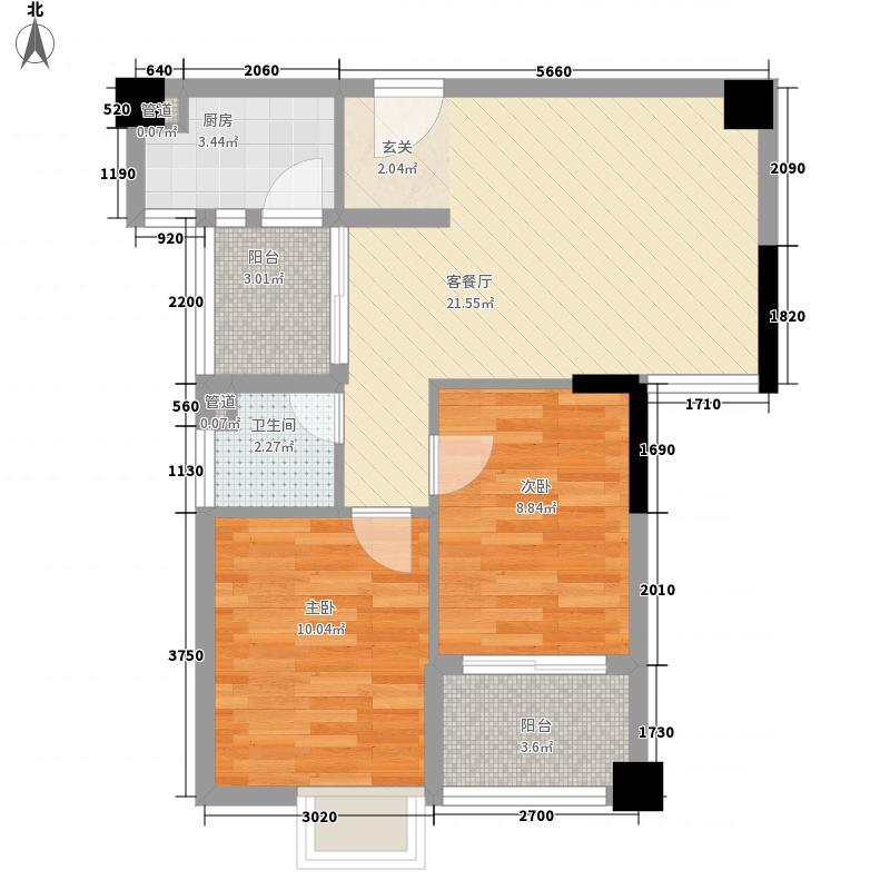 角美龙泉绿苑1#楼A2户型