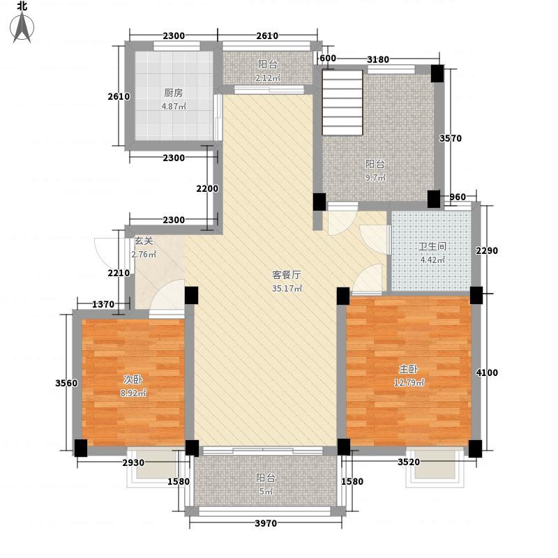 温莎花园s20114194211798068户型3室2厅1卫1厨