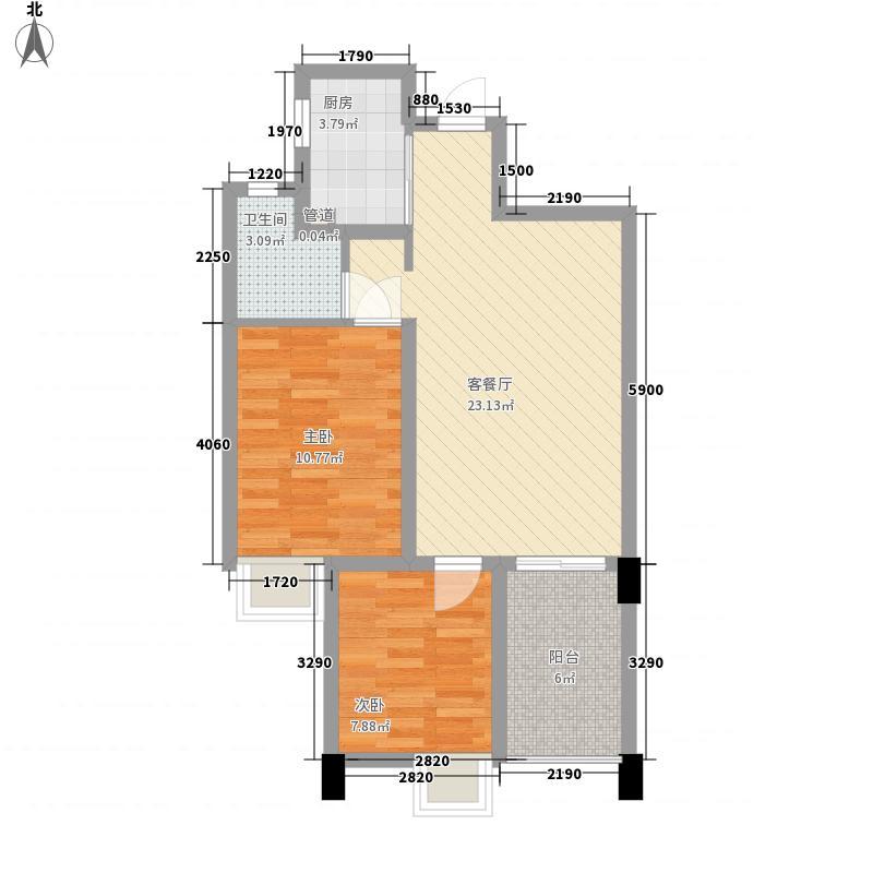 美之域B3建筑面积81户型