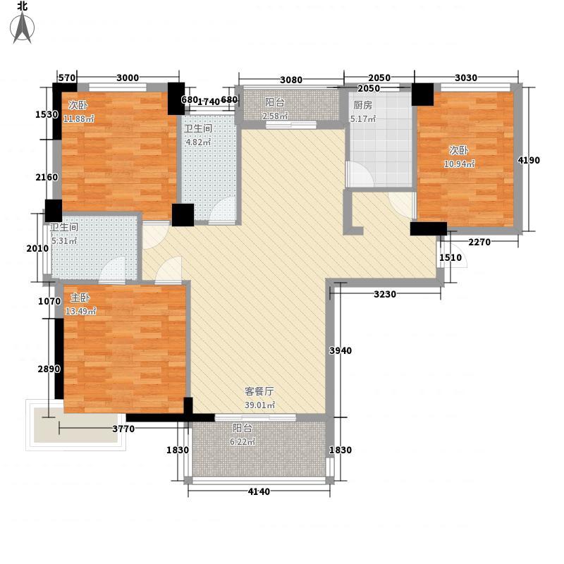凯旋名邸122.00㎡凯旋名邸户型图A户型3室2厅2卫1厨户型3室2厅2卫1厨