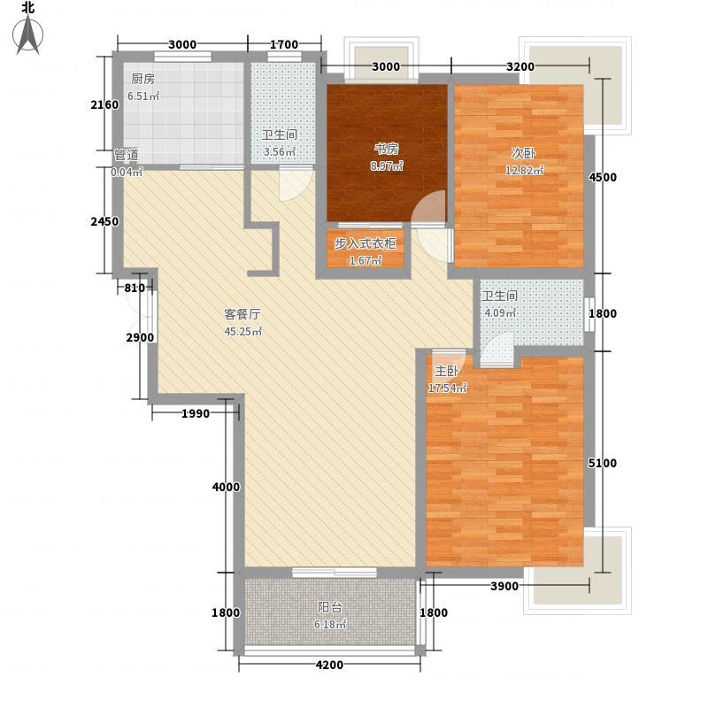 新东方花园151.00㎡G户型3室2厅2卫1厨