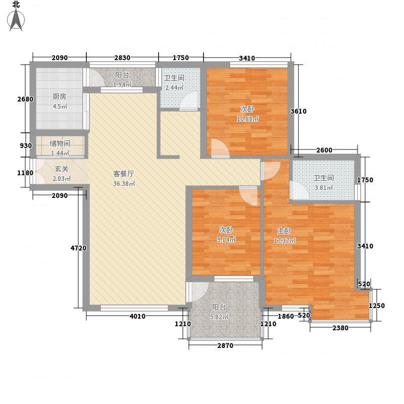安高城市天地134.79㎡安高城市天地户型图200607243室2厅2卫户型3室2厅2卫