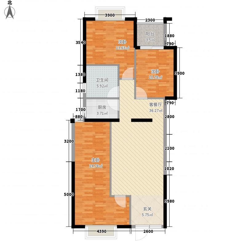 尚海阳光17、19栋标准层05、06户型