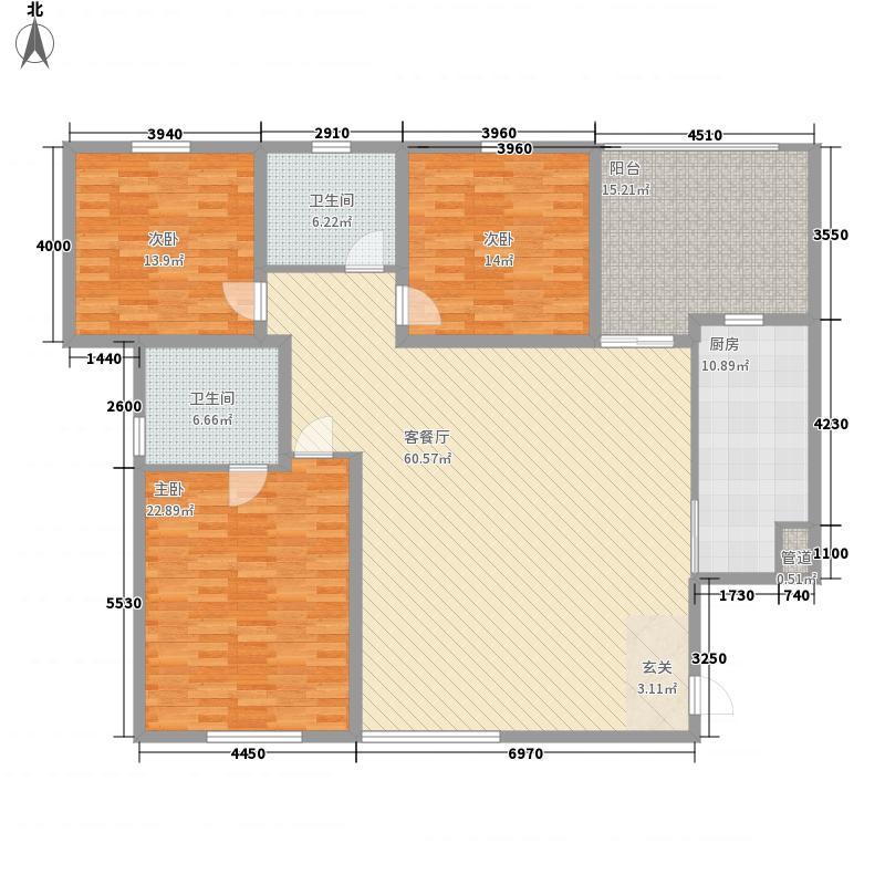 东方郡89.00㎡东方郡户型图3室户型图3室2厅2卫1厨户型3室2厅2卫1厨