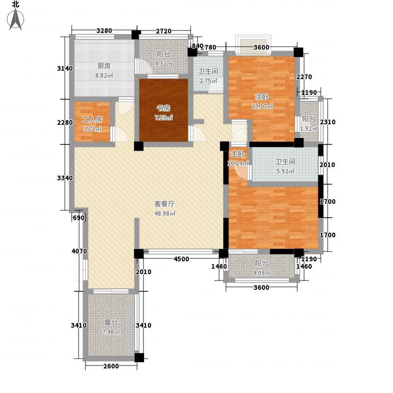 颐庆园148.63㎡颐庆园户型图148.63平米B2-2户型3室2厅1卫1厨户型3室2厅1卫1厨