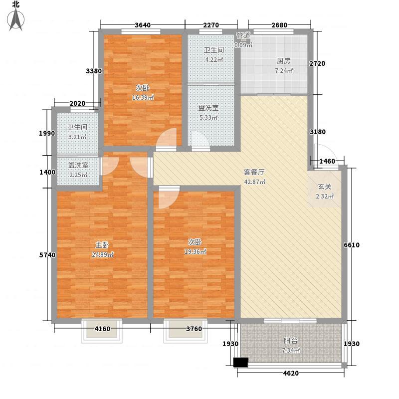 中央悦城二期188.00㎡中央悦城二期5室户型5室