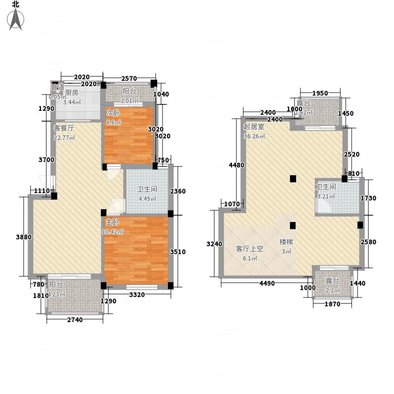 凯莱国际138.00㎡普通住宅面积13800m户型
