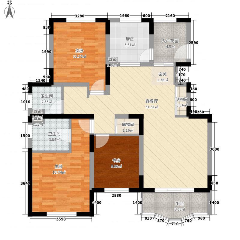 欧洲豪庭二期128.00㎡欧洲豪庭二期户型10室