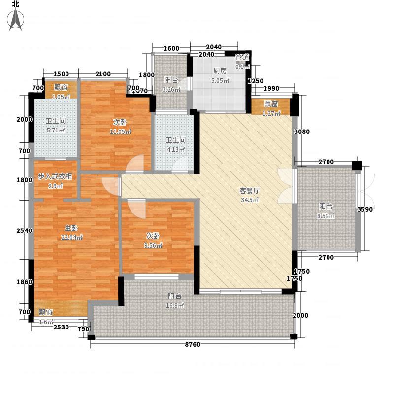 南海玫瑰花园南海玫瑰花园户型图四房二厅二卫一厨4室2厅2卫1厨户型4室2厅2卫1厨