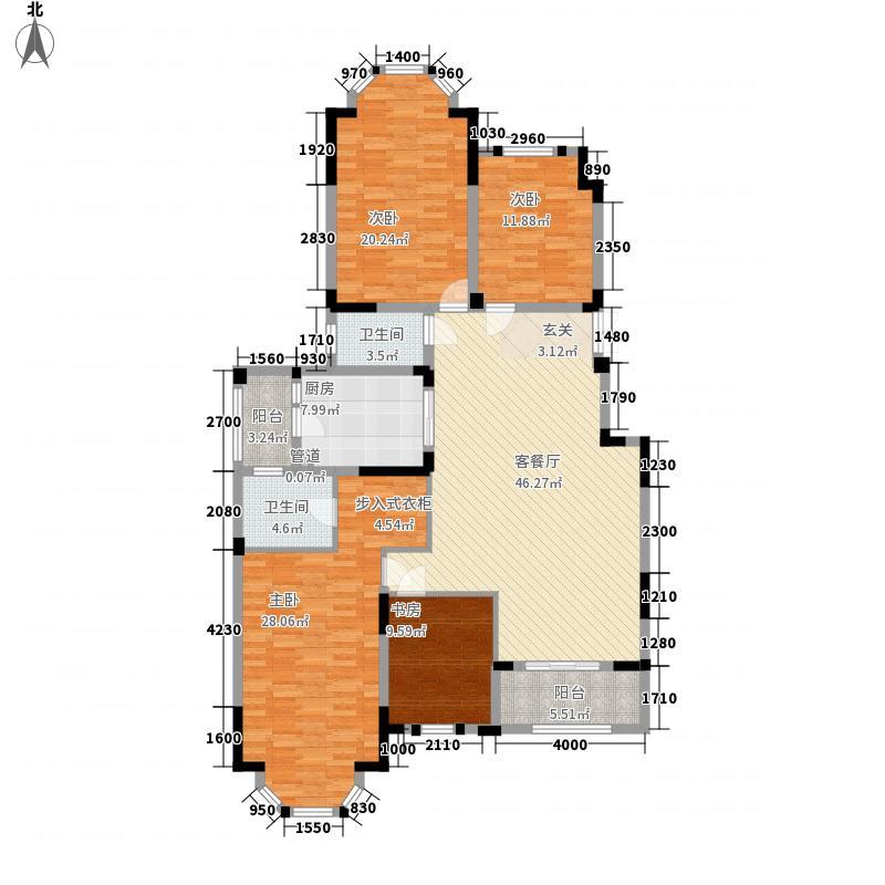 紫金英郡169.15㎡紫金英郡户型图洋房E6户型4室2厅2卫户型4室2厅2卫