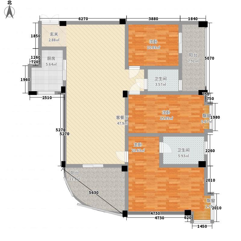 富德居富德居户型图130平方米3室2厅2卫户型3室2厅2卫