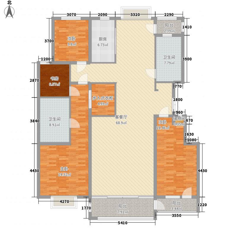 麓山霖语239.32㎡麓山霖语户型图A2户型4室3厅2卫1厨户型4室3厅2卫1厨