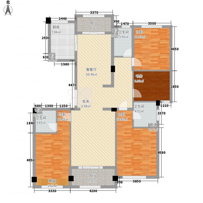 万里世纪豪庭E3户型