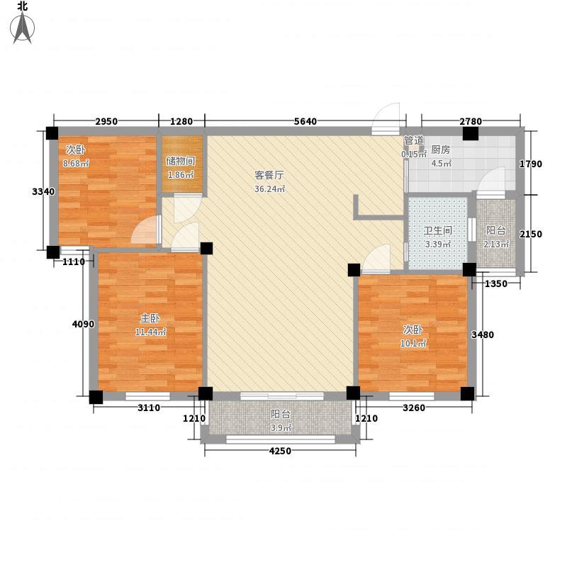 瑞士花园6-2号楼方户型