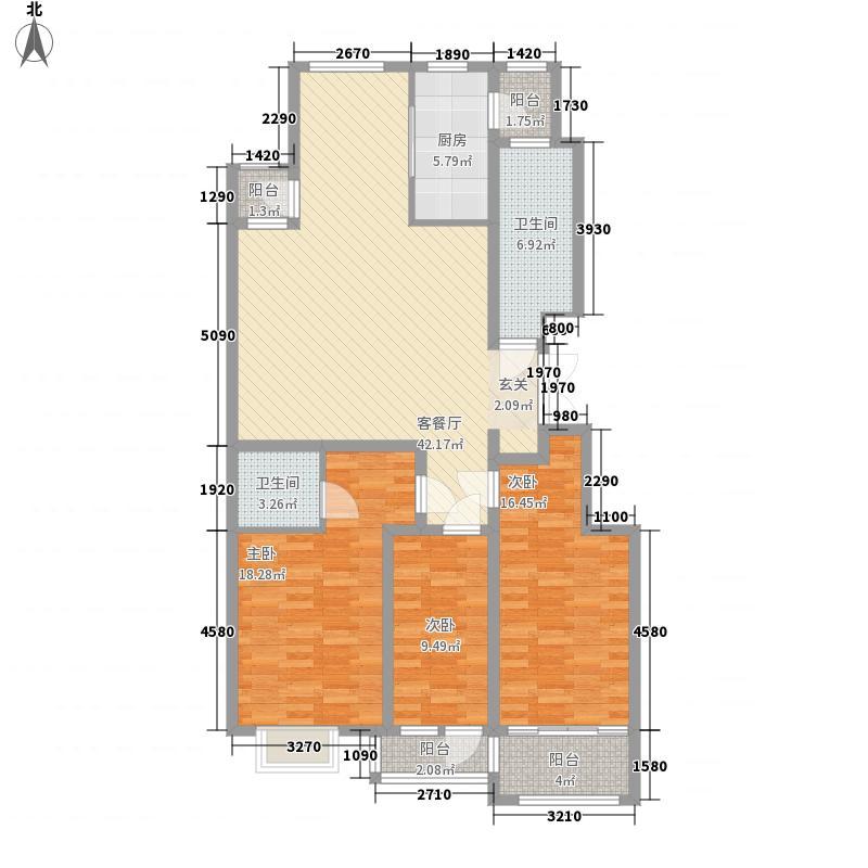 麓山霖语161.04㎡麓山霖语户型图C2户型3室2厅2卫1厨户型3室2厅2卫1厨