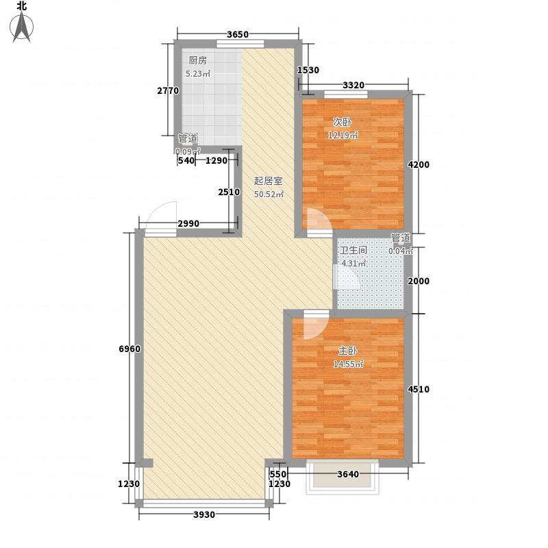 香檀1917102.95㎡香檀1917户型图2室2厅1卫户型10室