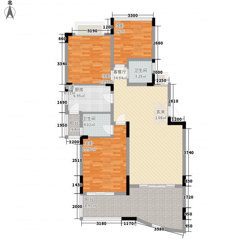 复地上城国际公寓5户型2室