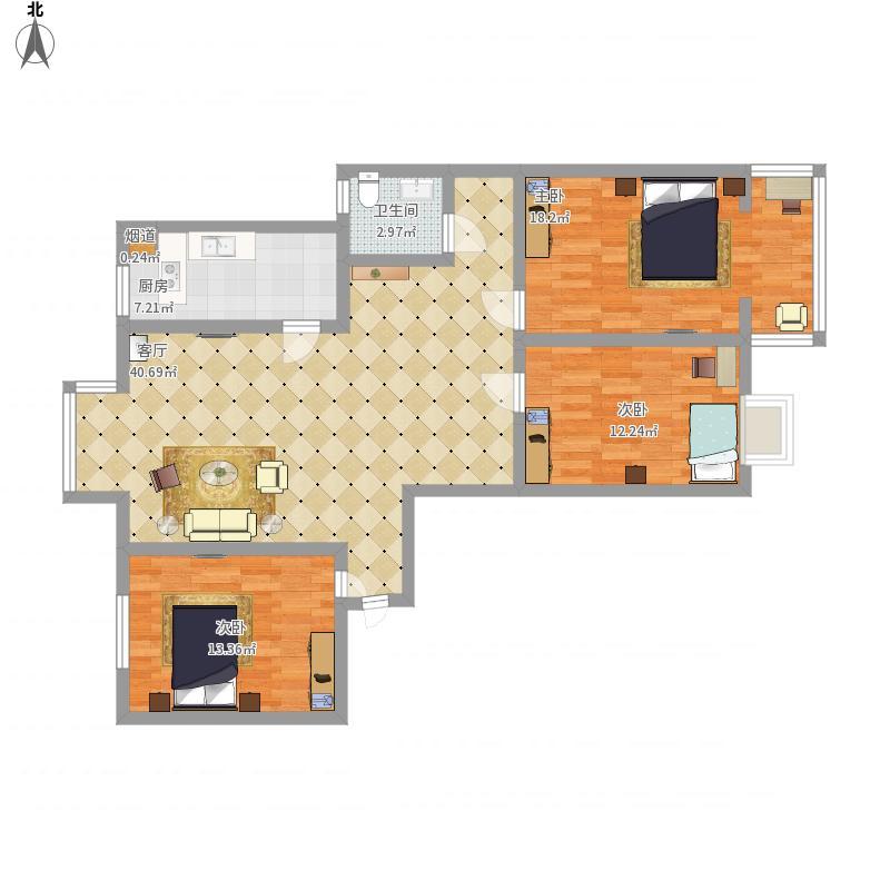 商丘-中央名邸-设计方案