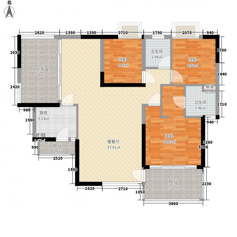 金地香蜜山金地香蜜山3室户型3室