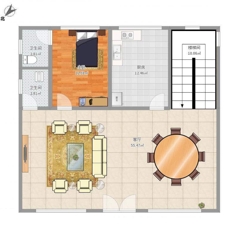 茂名-张国生1楼-设计方案