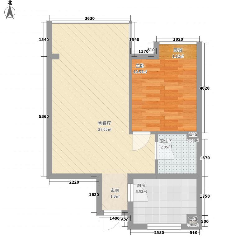 鸿瑞豪庭65.00㎡鸿瑞豪庭户型图A1户型1室1厅1卫1厨65平1室1厅1卫1厨户型1室1厅1卫1厨