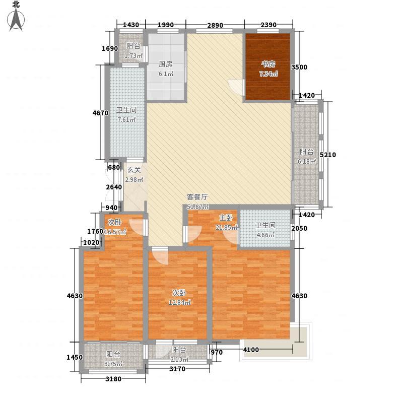 麓山霖语200.28㎡麓山霖语户型图C1户型4室2厅2卫1厨户型4室2厅2卫1厨