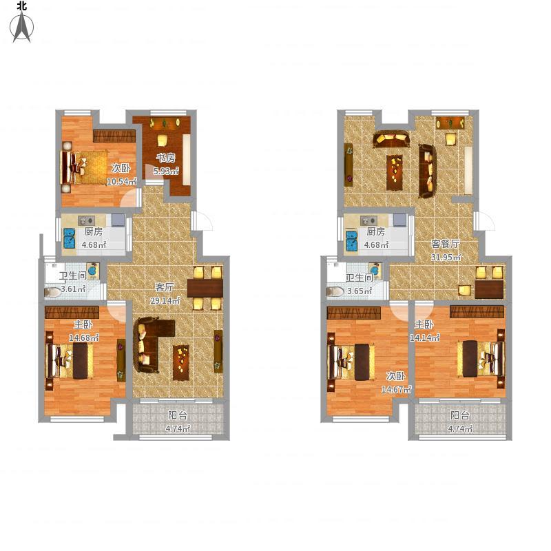 杭州-阳光绿色雅苑-设计方案