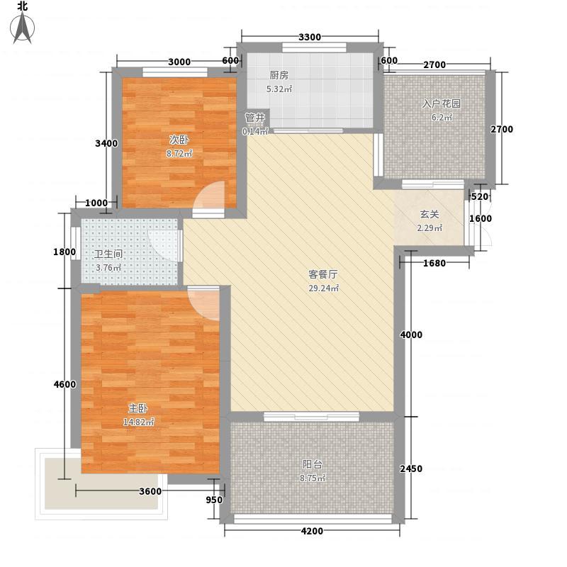 滨湖家园户型2室
