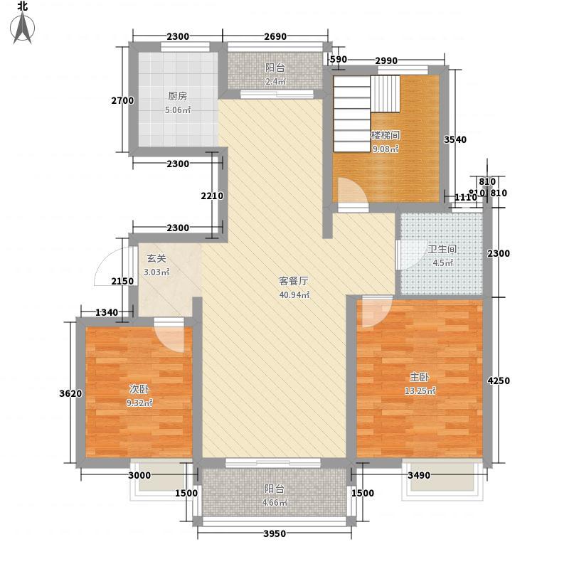 宝庆家园s20114194211798068户型3室2厅1卫1厨