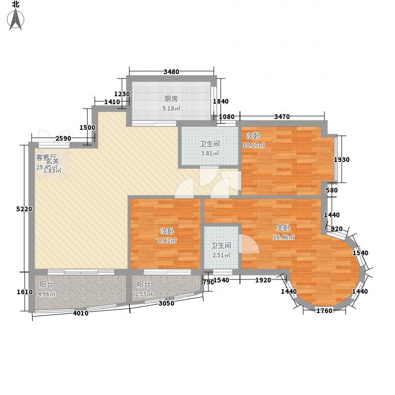 罗汉营商住楼75.00㎡户型2室