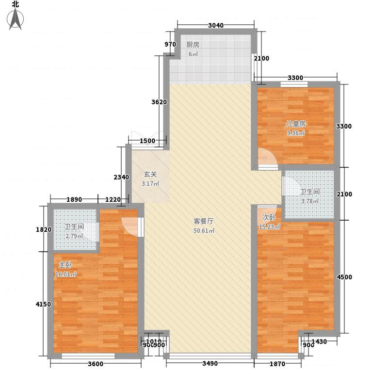 明城嘉苑二期139.00㎡明城嘉苑二期户型图户型图13室2厅1卫户型3室2厅1卫
