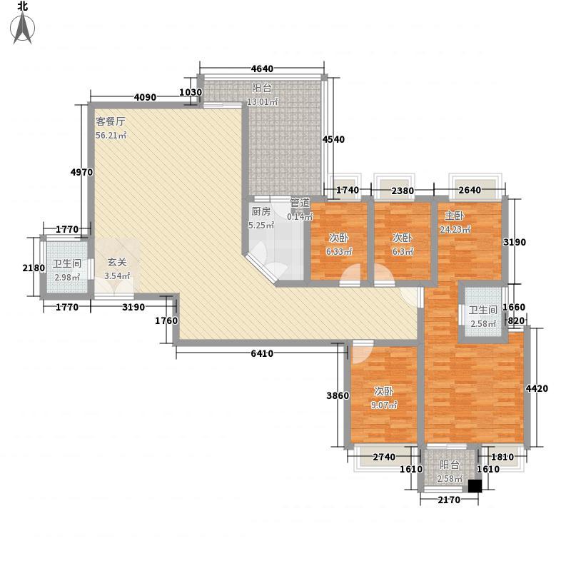 翠海花园二期深圳翠海花园二期户型图7户型10室