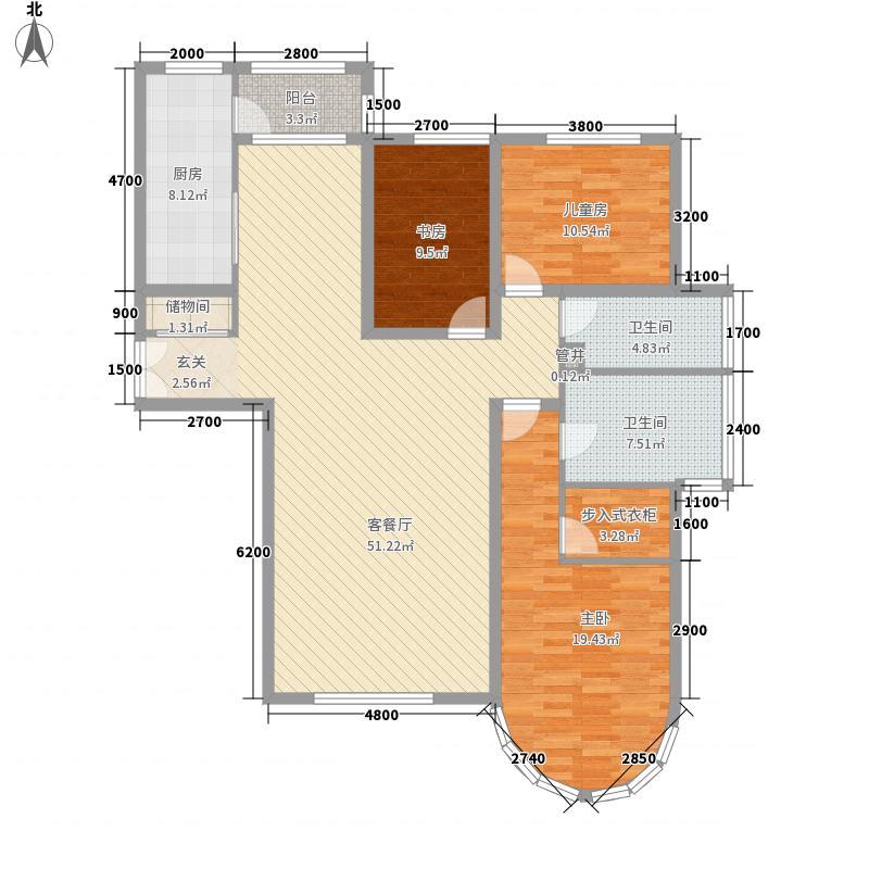 兴旺小区兴旺小区户型图三室两厅两卫53室2厅2卫1厨户型3室2厅2卫1厨