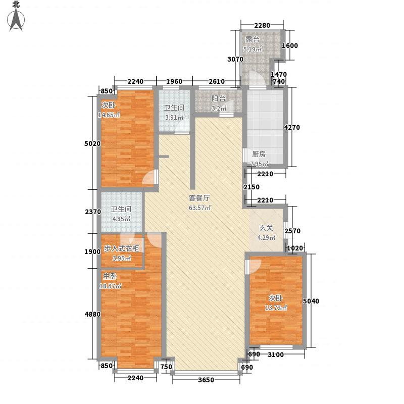 嘉业名铸168.00㎡嘉业名铸户型图1、2、3号楼户型图3室2厅2卫户型3室2厅2卫