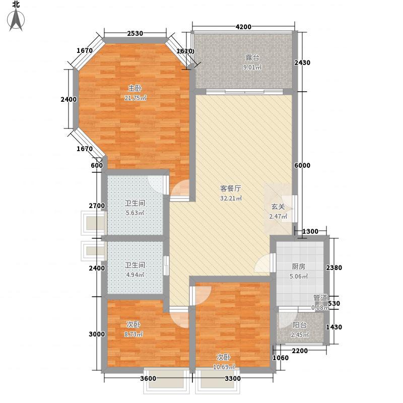 森林故事119.27㎡森林故事户型图3室2厅2卫1厨户型10室